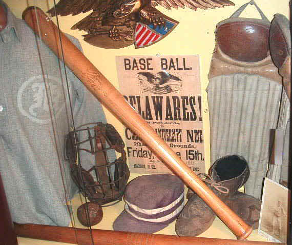 19th Century Estes Professional Baseball Bat Story